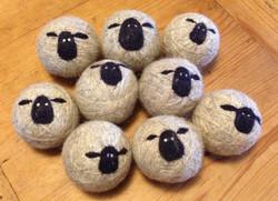 Original sheepy wool dryer balls