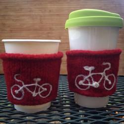 Custom Coffee cuffs