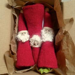 Handmade Santa Tree Topper