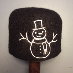Custom snowman toque