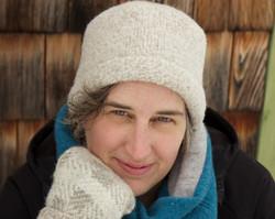 Lynn's Lids felted wool folded toque