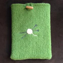 Knitting tablet sleeve