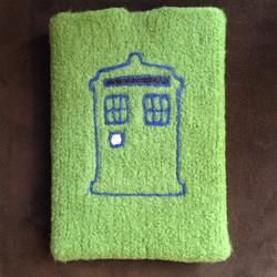 TARDIS tablet sleeve