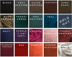 19 available colours