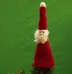 Lynn's Lids Santa Tree Topper