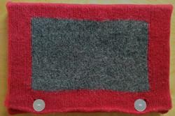 Etch-a-sketch laptop sleeve