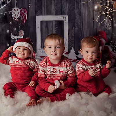 Oscar's, Leo's & Lily's Christmas Mini