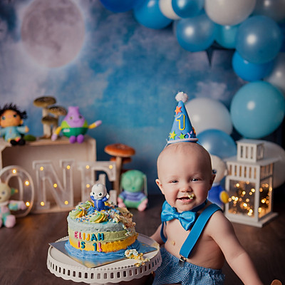 Elijah's Cake Smash