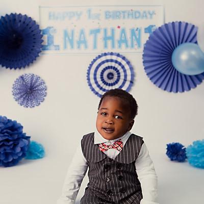 Nathan's Cake Smash