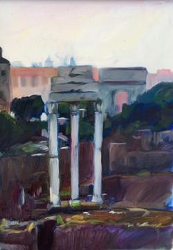 Roman Forum Morning 13_x 18_