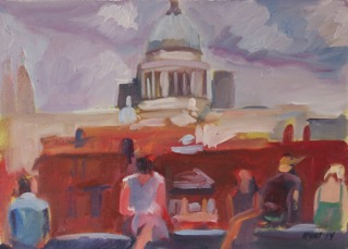 14 St. Paul's from the Tate Modern POL 13 x 18