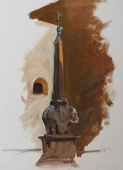 14 Vert Bernini Sculpture POL 13 x 18