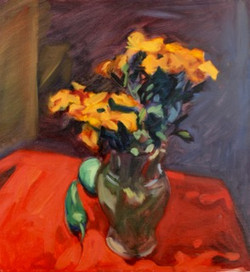 10-POS-Orange Flowers