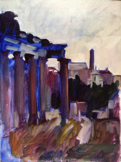 Roman Forum First Light13_x 18_