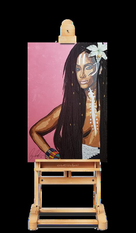 Black Beauty: Iman