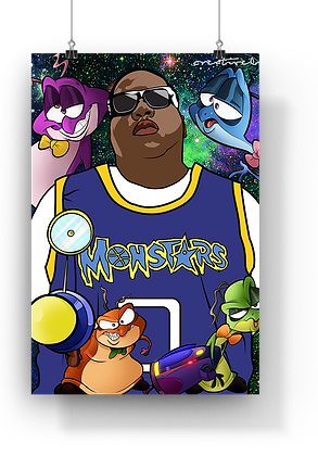 Space Jam x Biggie