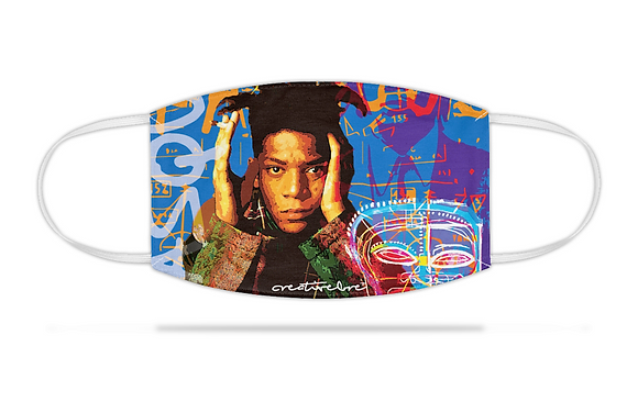 Basquiat Face Mask