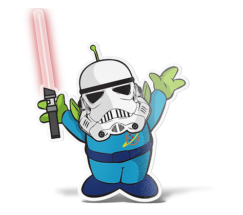 Toy Wars Sticker