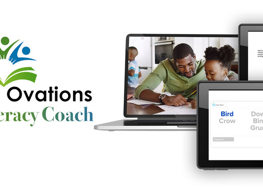 Learning Ovations new web-based app is now available for K-3 readers