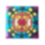 Switch plate cover Purple Mandela.jpg