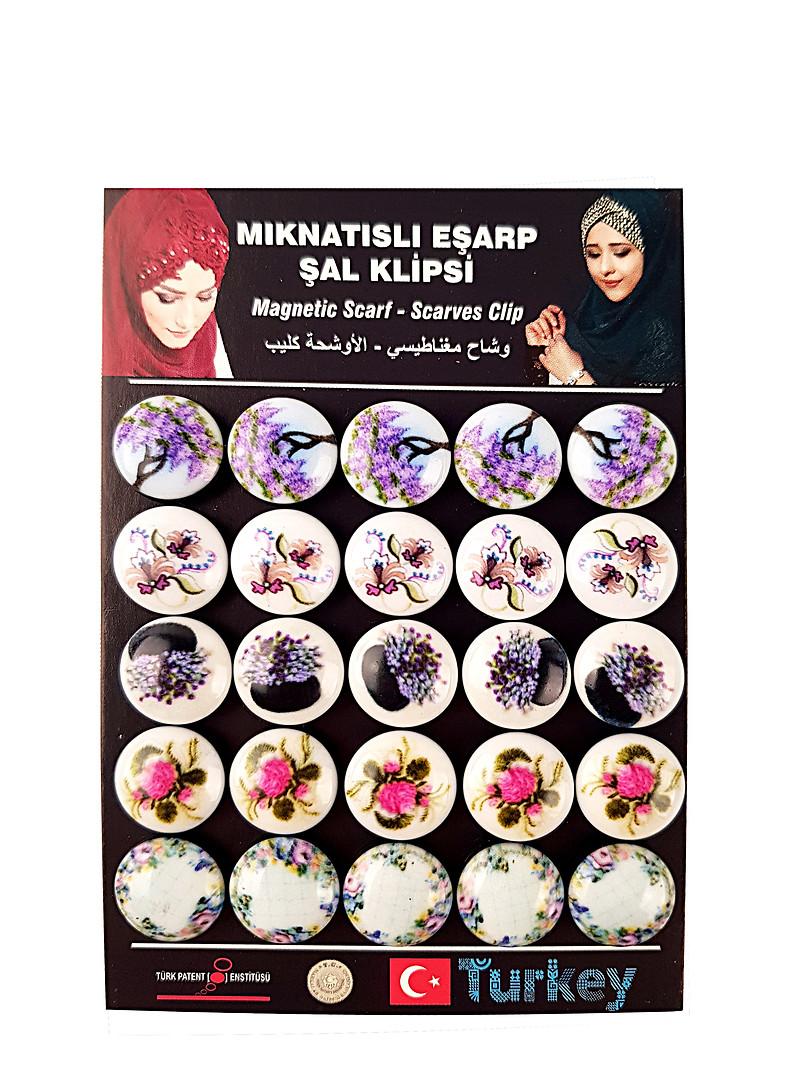 - Eşarp & Şal Mıknatısı - 9