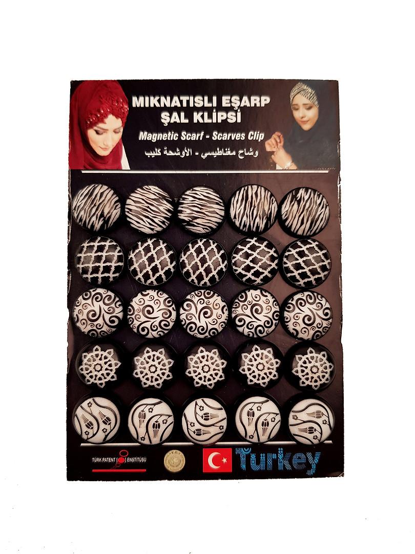 - Eşarp & Şal Mıknatısı - 17