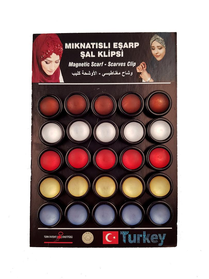 - Eşarp & Şal Mıknatısı - 29