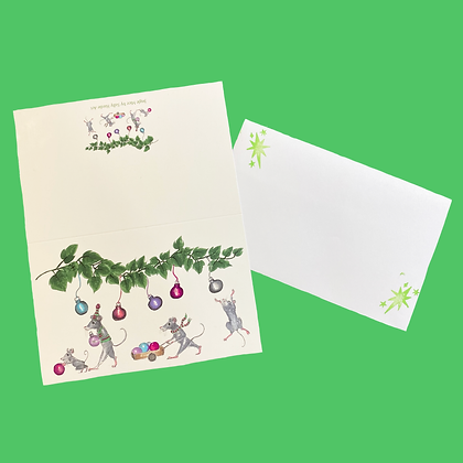 Jingle Mice Christmas Cards