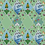 Thumbnail: Whimsical Trellis Green Velvet