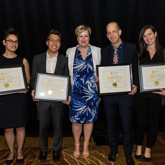 2017 scholarship recipients with CIP Pre