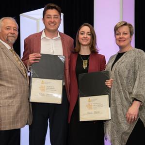 2019 Centenary Award recipients with CIP