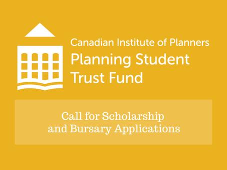 Call for Scholarship and Bursary Applications
