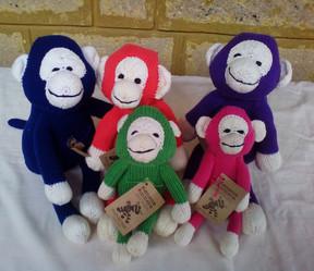 Safari Monkey- Cotton