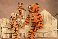 Spider Tiger - Handspun Wool
