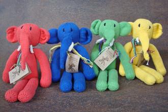 Spider Elephants - Cotton