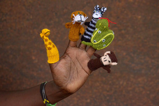 Finger Puppets - Acrylic