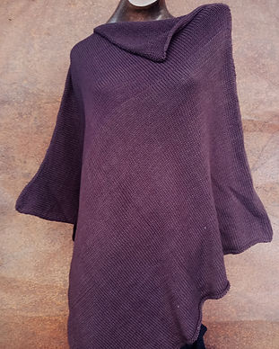 Asymmetrical Poncho Organic Cotton - KMS