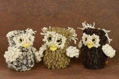 Bundu Owl - Handspun Wool