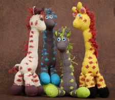 Bush Baby Giraffe - Cotton