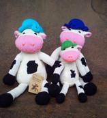 Shamba Shelf Cow - Cotton