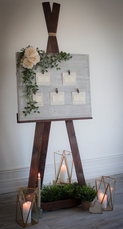 Our Newest Table Plan