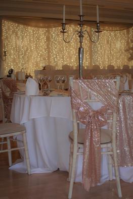 Rose Gold Sequin Ties