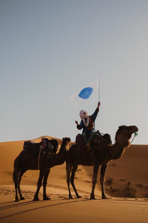 One World Flag, Marocco