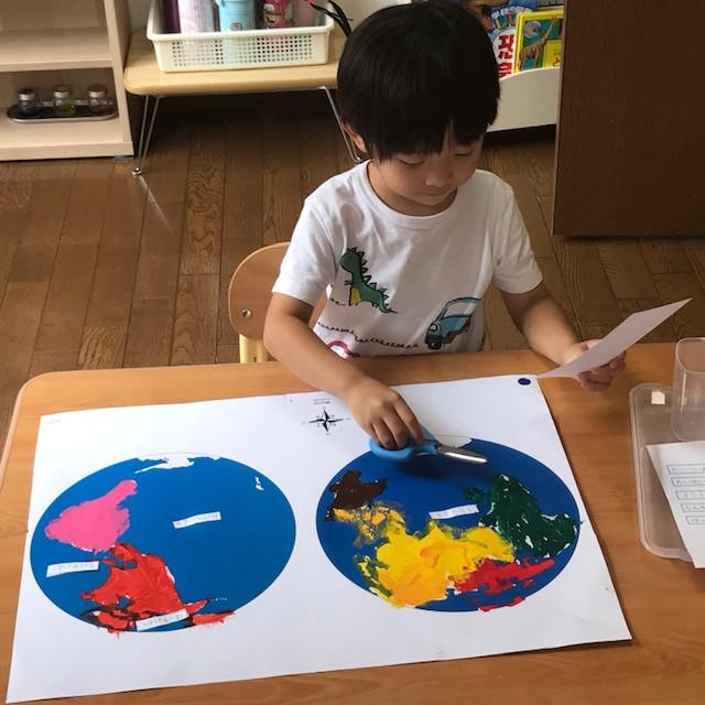 サマースクール プライマリー 世界地図