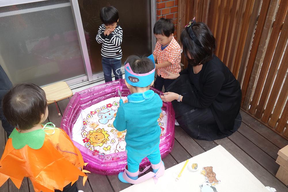 ハロウィン お菓子釣り ゲーム