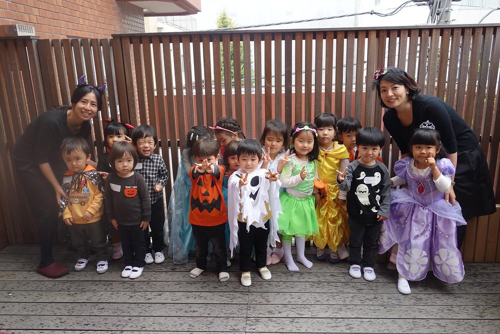 ハロウィンパーティ全員集合
