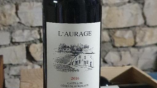 Bordeaux Domaine de l'Aurage 2016 Louis Mitjaville