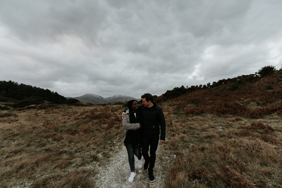 Mourne mountains engagement