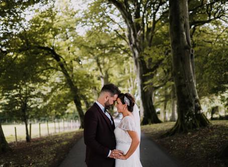 Gary & Annemarie - Corick House Wedding