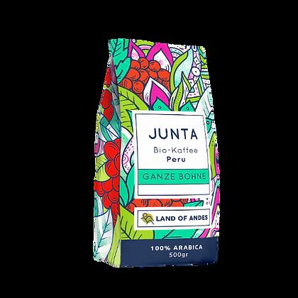 Junta Bio-Kaffee Villa Rica. 500 g GANZE BOHNE